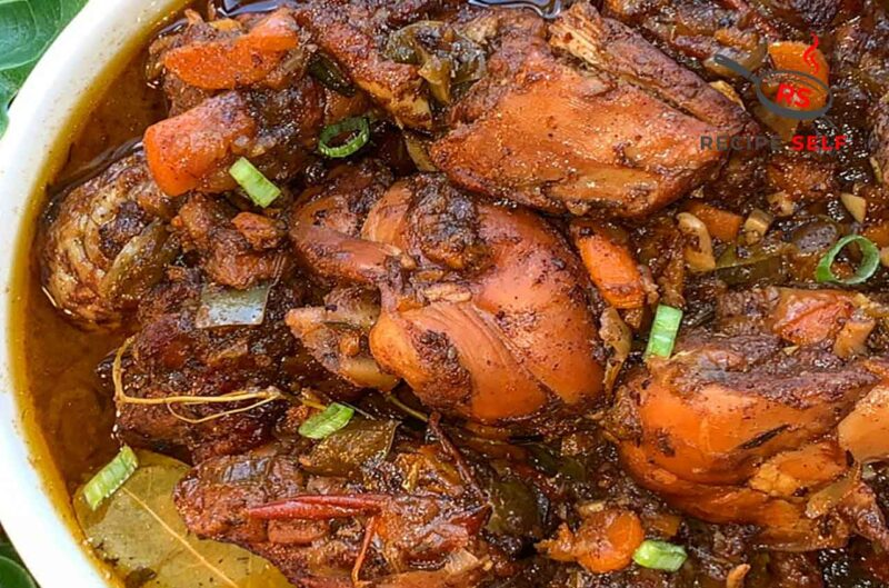 Recipe for Stewing Chicken