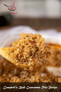 Campbell's Beef Consomme Rice Recipe