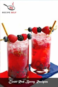 Ciroc Red Berry Recipes