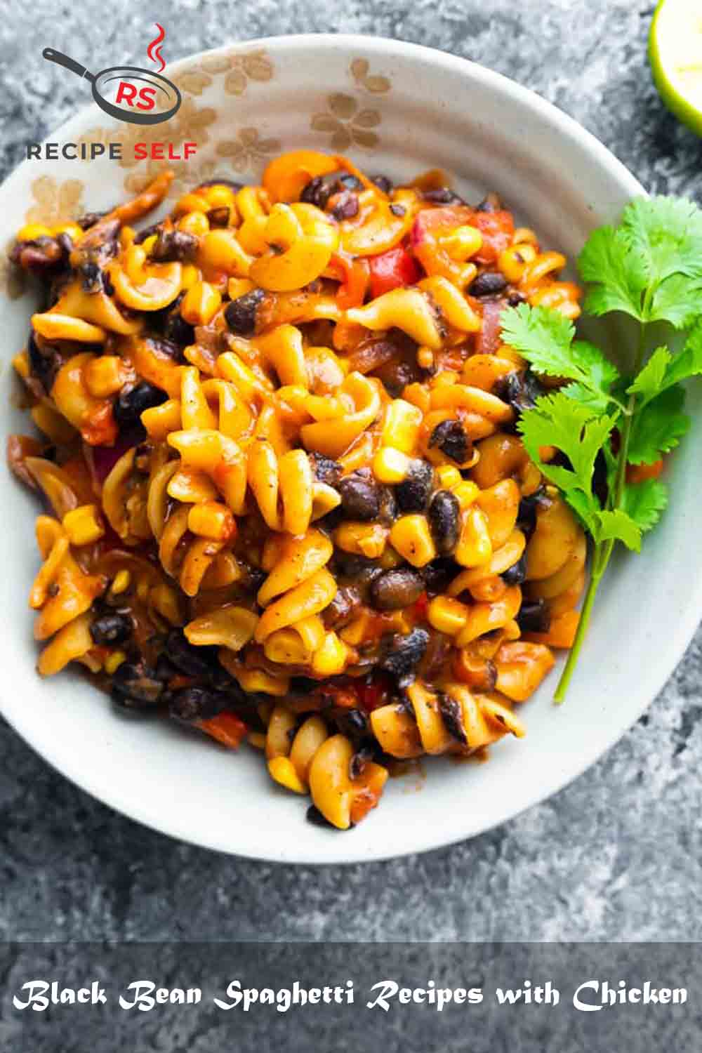 Black Bean Spaghetti Recipes with Chicken