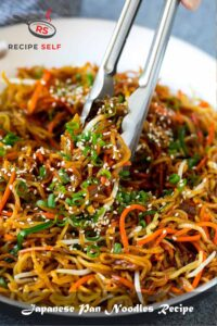 Japanese Pan Noodles Recipe