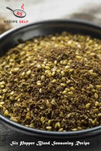 Six Pepper Blend Recipe