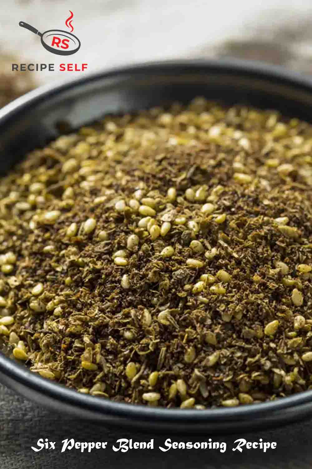 Six Pepper Blend Seasoning Recipe